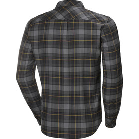 Helly Hansen Classic Check Langarm Shirt Herren charcoal plaid